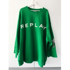 MIKINA REPLAY GREEN