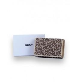 PENĚŽENKA DKNY HNĚDÁ