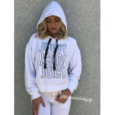 MIKINA JUICY COUTURE WHITE